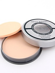 cheap -3 Powder Concealer/Contour Pressed Powder Matte Mineral Pressed powder Whitening Oil-control Long Lasting Face