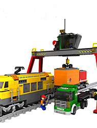 cheap -Building Blocks Train Train Children's Gift