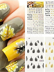 cheap -Nail Art Sticker  Sticker Makeup Cosmetic Nail Art Design
