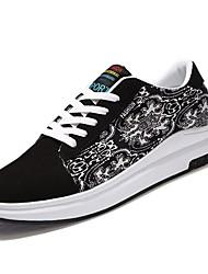 economico -Da uomo Scarpe PU (Poliuretano) Primavera Autunno Comoda Sneakers Lacci Per Casual Bianco Nero White/Blue Bianco/Giallo