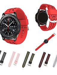preiswerte -Uhrenarmband für Gear S3 Frontier Gear S3 Classic Samsung Galaxy Sport Band Silikon Handschlaufe