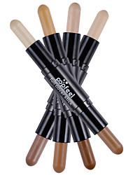 billige Concealer & kontur-4 Concealer/Kontur Lyse Striper & Bronse Striper Tørr Matt Bleking Reduserer rynker Fuktighetsgivende Concealer Naturlig Brighte Daglig