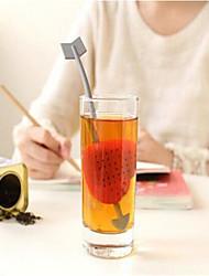 Filtro de chá de plástico de 0 ml, fabricante