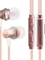 JTX X13 Dans l'oreille Câblé Ecouteurs Dynamique Téléphone portable Écouteur Avec Microphone Isolation du bruit Casque