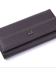 cheap -Women Bags PU Wallet Zipper for Event/Party Formal All Seasons Black Fuchsia Coffee