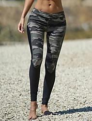preiswerte -mittlerer nähender Normallackdruck der Frauen legging, solidporty Art und Weise dünn