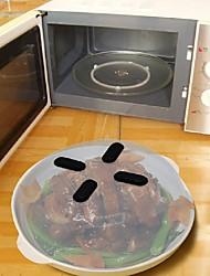 anti-éclaboussures de nourriture micro-ondes hover couverture anti-pulvérisation 1pc, outil de cuisine