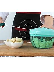 baratos -Trituradores de gelo e máquinas de barbear For Vegetais para Meat Aço Inoxidável + Plástico ABS