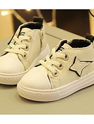economico -Da ragazzo Scarpe Pelle Autunno Inverno Comoda Sneakers Per Casual Nero Beige Rosa