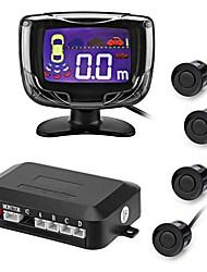 ziqiao® 4 capteurs buzzer 22mm kit de capteur de recul de voiture