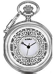 Men's Pocket Watch Fashion Watch Quartz Alloy Band Black Silver Bronze