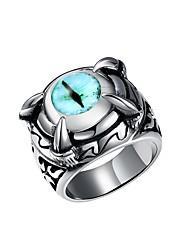 cheap -Women's Stainless Steel / Titanium Steel Knuckle Ring - Geometric / Irregular Silver Ring For Halloween / Street