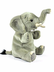 cheap -Finger Puppets Puppets Hand Puppet Toys Elephant Animals Cute Lovely Plush Children's Adults' Pieces