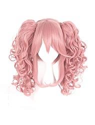abordables -Perruques de Cosplay Cosplay Cosplay Manga Perruques de Cosplay 40cm CM Fibre résistante à la chaleur Homme Femme