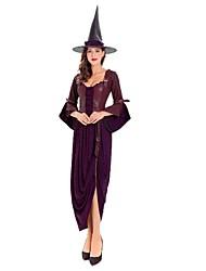Sorcière Déesse Costumes de Cosplay Bal Masqué Féminin Noël Halloween Carnaval Nouvel an Fête d'Octobre Fête / Célébration Déguisement