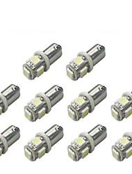 10 pcs ba9s 5050smd 5 blanc couleur voiture ampoule lampe voiture électronique accessoires largeur lampe dc12v