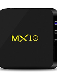 abordables -MX10 Box TV Android 7.1 Box TV RK3328 4GB RAM 32GB ROM Quad Core