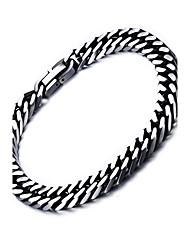 cheap -Men's Women's Chain Bracelet Punk Rock Titanium Steel Line Jewelry For Party Gift