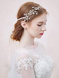 rhinestone flowers head headpiece klasický ženský styl