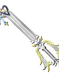 cheap -Weapon Sword Inspired by Kingdom Hearts Cosplay Anime Cosplay Accessories Weapon PVC ABS Men's Women's New Hot