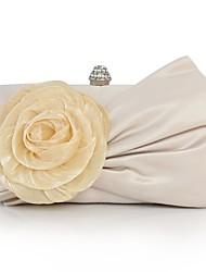 economico -Donna Sacchetti Seta Pochette Con applique per Matrimonio Serata/evento Per tutte le stagioni Beige