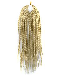 """страх замки волос кос афро плетеные гавана твист синтетические волосы светлые блондинки 14 """"плетение волос наращивание волос"""