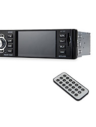 4,1 Zoll eingebetteten Autoradio-Player 1-Din Auto Video-Audio-mp5-Player lcd Display voller Betrachtungswinkel High-Definition