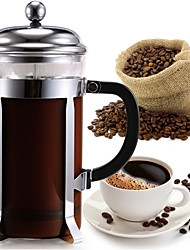 cheap -ml  Glass Stainless Steel French Press , Maker