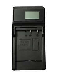 ismartdigi cnp120 lcd usb camera battery charger for casio cnp120 np120 sony bn1 bateria