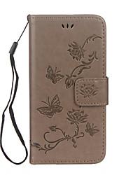 economico -Custodia Per Apple iPhone X iPhone 8 iPhone 8 Plus Porta-carte di credito A portafoglio Con supporto Con chiusura magnetica Decorazioni