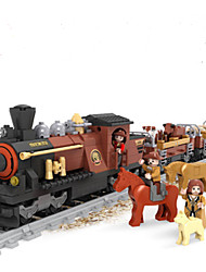 Building Blocks Train Toys Train Animals Cartoon Still Life Vehicles Animals Fashion Kids Pieces