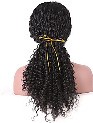 cheap -Women Synthetic Wig Lace Front Long Curly Black Natural Hairline Natural Wigs Costume Wig