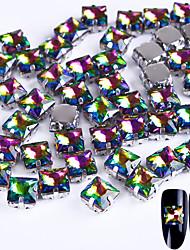 Недорогие -10 Декор для нейл-арта горный хрусталь жемчуг макияж Косметические Ногтевой дизайн