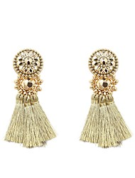 cheap -Women's Drop Earrings Jewelry Tassel Fashion Cotton Irregular Jewelry For Gift Daily