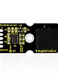 keyestudio plug fácil adxl345 módulo de aceleração de três eixos para arduino