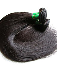Unprocessed Indian Natural Color Hair Weaves Straight Hair Extensions One-piece Suit Black