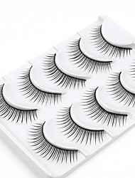 cheap -5 Daily Makeup Full Strip Lashes Natural Long Makeup Tools High Quality Daily
