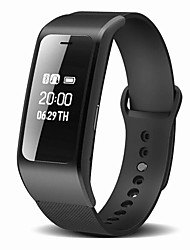 cheap -Smart Bracelet Water Resistant / Water Proof Calories Burned Pedometers Long Standby Information Hands-Free Calls Camera Control
