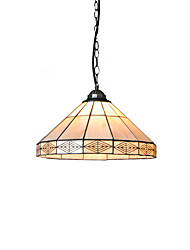 cheap -Diameter 35cm Tiffany Pendant Lights Glass Lamp Shade Living Room Bedroom Dining Room light Fixture