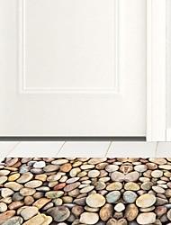 DIY 3D Cobblestone Anti-slip Floor Stickers Home Decor PVC Waterproof Exercise Stone Floor Anti-slip Ground Decal for Kids Room 60*120cm