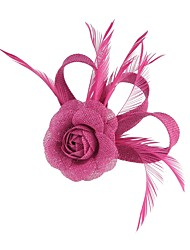 cheap -Flax Flowers Hair Clip Headpiece Wedding Party Elegant Feminine Style