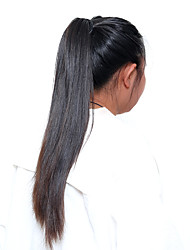 cheap -Human Hair Indian Lace Wig Straight With Baby Hair 360 Frontal 180% Density Natural Black Medium