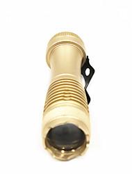 ANOWL Lampes de poche Porte-clés 180 lm 1 Mode - Portable Transport Facile Usage quotidien Or Noir Argent Orange