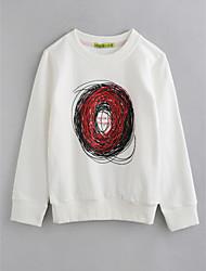 cheap -Boys' Geometric Blouse,Cotton Fall Long Sleeve White