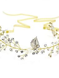 rhinestone slitina čelenky květiny headpiece klasický ženský styl