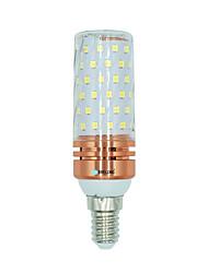 1 Pça. 16W E14 Lâmpadas Espiga 84 leds SMD 2835 Branco Quente Branco Cor da fonte de luz dupla 1300lm 3000-3500  6000-6500  3000-6500K AC