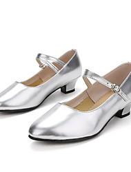 "cheap -Women's Modern Patent Leather Sneaker Performance / Customized Heel Silver Gold 1"" - 1 3/4"" Customizable"