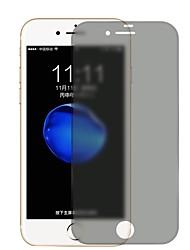 Недорогие -Защитная плёнка для экрана Apple для iPhone 8 Закаленное стекло 1 ед. Защитная пленка для экрана Anti-Spy Защита от царапин Матовое
