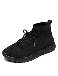 cheap -Men's Shoes Knit Spring Fall Comfort Sneakers For Casual Red Black