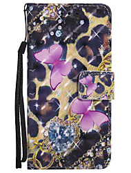 cheap -Case For Samsung Galaxy A5(2017) / A3(2017) Wallet / Card Holder / with Stand Full Body Cases Butterfly Hard PU Leather for A3(2017) / A5(2017) / A5(2016)